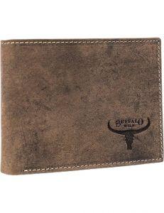 Buffalo wild hnědá pánská peněženka vel. ONE SIZE 116066-411150