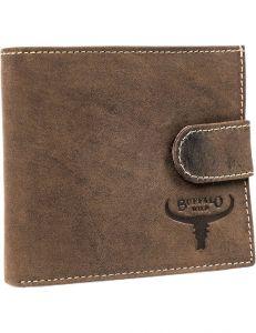 Buffalo wild hnědá pánská peněženka vel. ONE SIZE 116070-411154