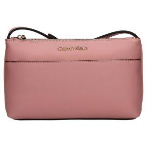 Dámská crossbody kabelka Calvin Klein Kanea – růžová