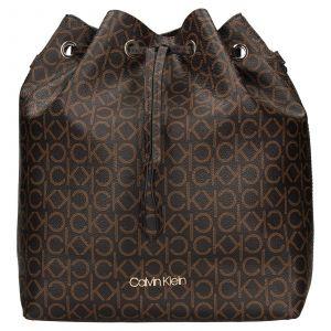 Dámská kabelka Calvin Klein Sára – hnědá