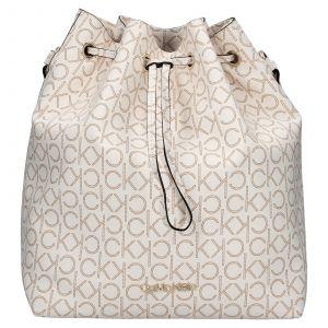 Dámská kabelka Calvin Klein Sára – hnědo-béžová