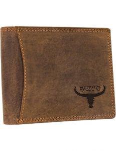Buffalo wild hnědá pánská kožená peněženka vel. ONE SIZE 116781-413188