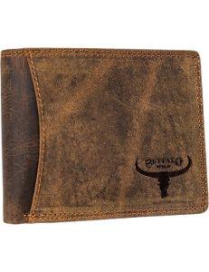 Buffalo wild hnědá pánská kožená peněženka vel. ONE SIZE 116782-413189