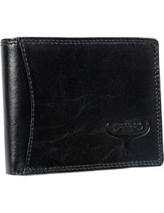 Buffalo wild černá pánská kožená peněženka vel. ONE SIZE 116783-413190