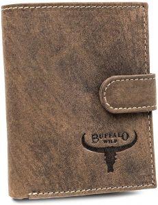 Buffalo wild pánská hnědá kožená peněženka vel. ONE SIZE 116818-413225
