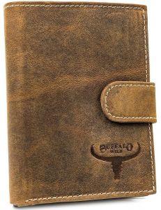 Buffalo wild béžová pánská peněženka s drukem vel. ONE SIZE 116823-413230