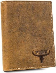 Buffalo wild pánská béžová peněženka – vertikální střih vel. ONE SIZE 116824-413231