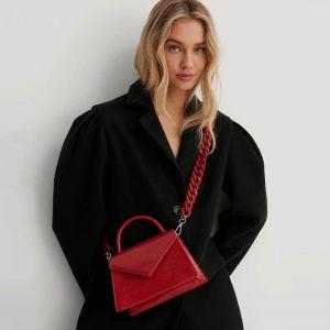 Červená kabelka 75753