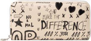 Desigual Dámská peněženka Mone Hansmade Fiona 21SAYP311001