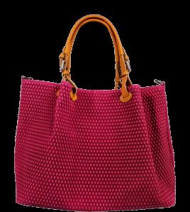 Růžové kabelky Belloza Fuxia