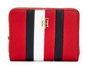 Tommy Hilfiger červená dámská peněženka Essence s logem