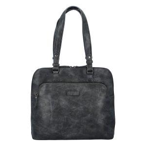 Dámská kabelka přes rameno tmavě šedá – Enrico Benetti Caeny šedá