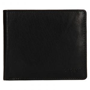 Pánská kožená peněženka Lagen Niklas – černá