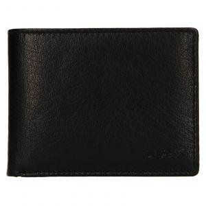 Pánská kožená peněženka Lagen Kryštof – černá