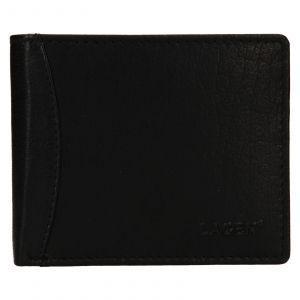 Pánská kožená peněženka Lagen Felixe – černá