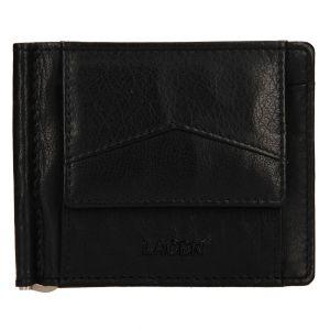 Pánská kožená dolarovka Lagen Picard – černá