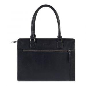 Dámská kožená kabelka Burkely Dennis – černá