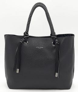 Klasická dámská černá kabelka DAVID JONES
