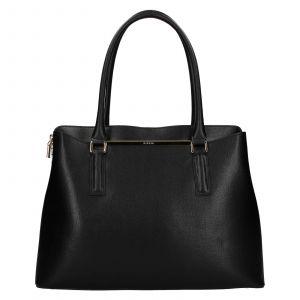 Dámská kožená kabelka Ripani Divina – černá
