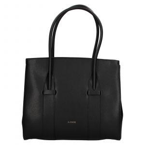 Dámská kožená kabelka Ripani Bussola – černá