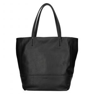 Dámská kožená kabelka Ripani Ditte – černá