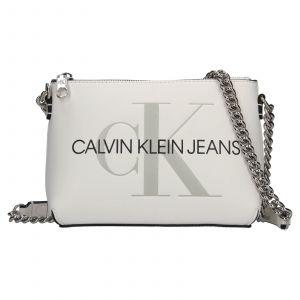 Dámská crossbody kabelka Calvin Klein Jeans Norra – bílá