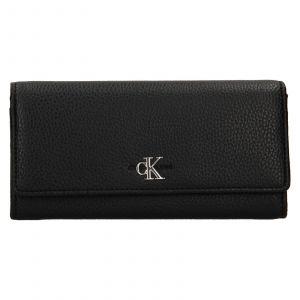 Dámská peněženka Calvin Klein Jeans Brendas – černá