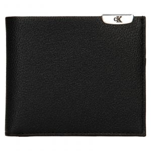 Pánská kožená peněženka Calvin Klein Dorn – černá