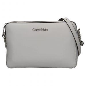Dámská crossbody kabelka Calvin Klein Naoni – světle šedá