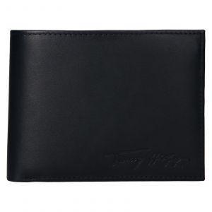 Pánská kožená peněženka Tommy Hilfiger Otto – tmavě modrá