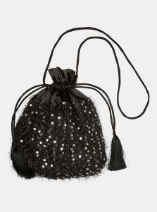 Vero Moda černá kabelka s flitry