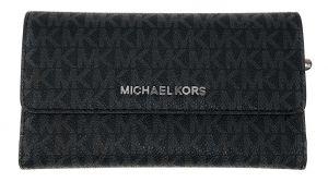 Michael Kors Dámská kožená peněženka 192317781991 Black