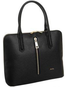 Rovicky® černá kožená shopper kabelka vel. ONE SIZE 124263-443292
