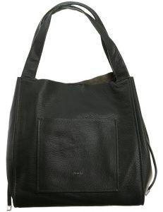 Rovicky® černá kožená shopper kabelka vel. ONE SIZE 124264-443293