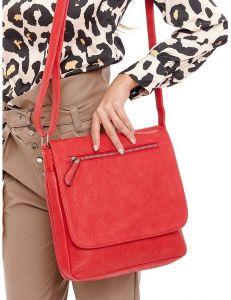 červená dámská crossbody kabelka vel. ONE SIZE 124272-443301