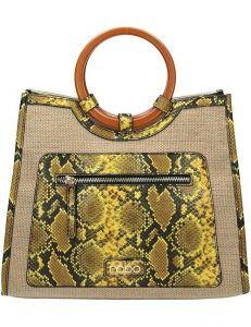Nobo dámská shopper kabelka se vzorem hadí kůže vel. ONE SIZE 124276-443305