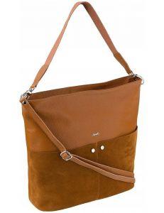 Rovicky kožená kabelka – camel vel. ONE SIZE 124282-443311