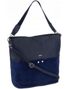 Rovicky tmavě modrá kožená kabelka vel. ONE SIZE 124283-443312
