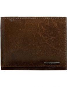 Tmavě hnědá pánská peněženka vel. ONE SIZE 124291-443320