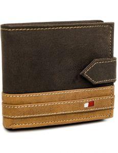 Always wild hnědá pánská peněženka s proužkem vel. ONE SIZE 124292-443321