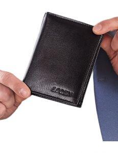 černá pánská peněženka vel. ONE SIZE 124300-443329
