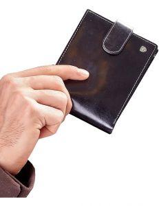 černá pánská peněženka vel. ONE SIZE 124301-443330