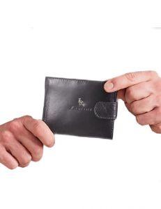 černá pánská peněženka vel. ONE SIZE 124303-443332