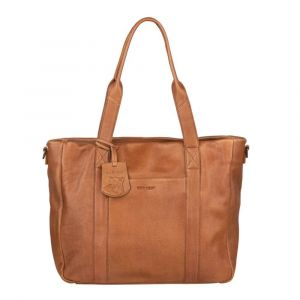 Dámská kožená kabelka Burkely Jackie – hnědá