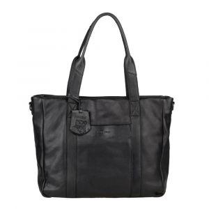 Dámská kožená kabelka Burkely Jackie – černá