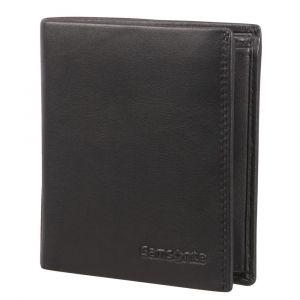 Samsonite Pánská kožená peněženka Attack 2 SLG 119 – černá