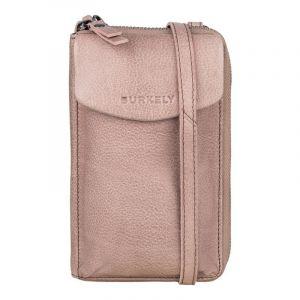 Dámská kožená peněženko-kabelka Burkely Ghita – růžová