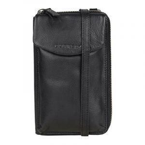 Dámská kožená peněženko-kabelka Burkely Ghita – černá