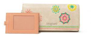 Desigual béžová peněženka Mone Carlina Mariona