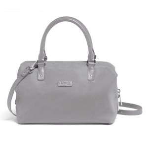 Lipault Dámská kabelka Lady Plume Bowling Bag S – šedá